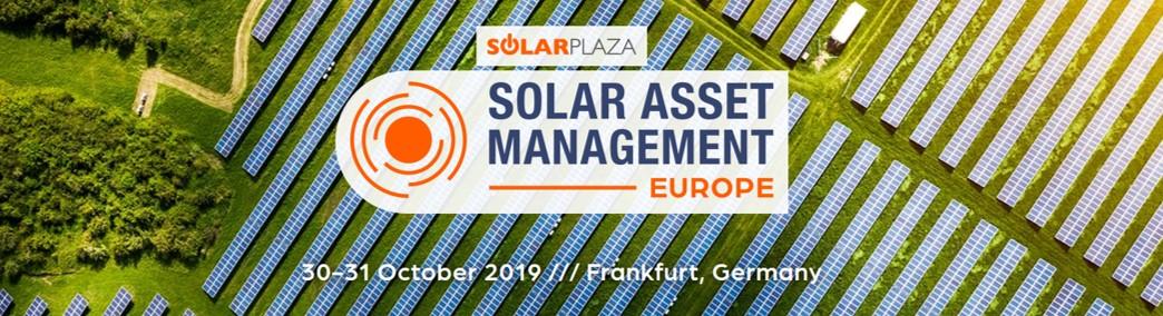 Solar Asset Management Europe 2019