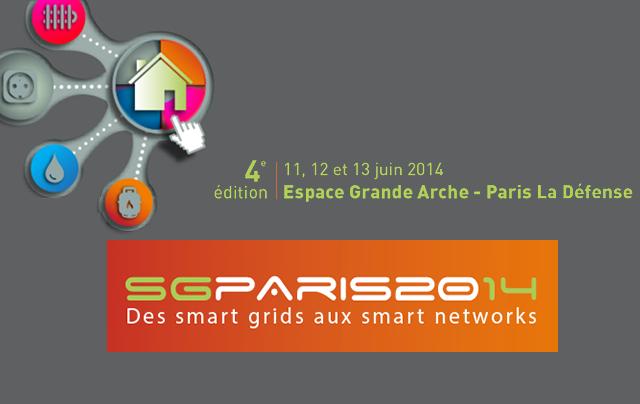 Participation in the Smart Grid Paris 2014 Exhibition