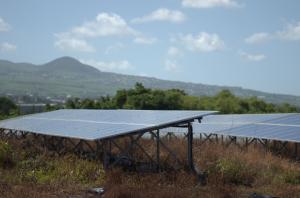 Solar panel Reunion island