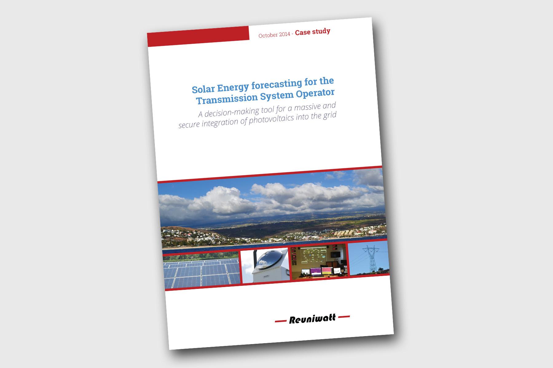 Solar forecasting TSO case study