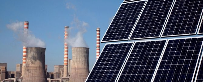 coal vs solar