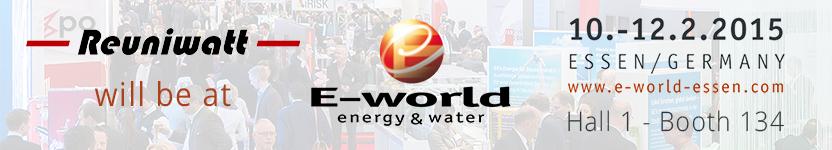 E-World energy & water Essen 2015