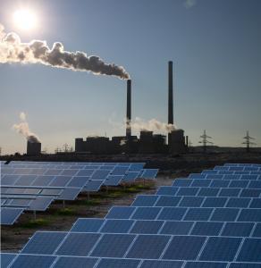 solar energy vs fossil energy