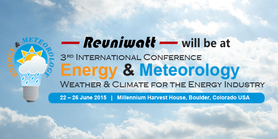 ICEM 2015: Weather & Climate for the Energy Industry