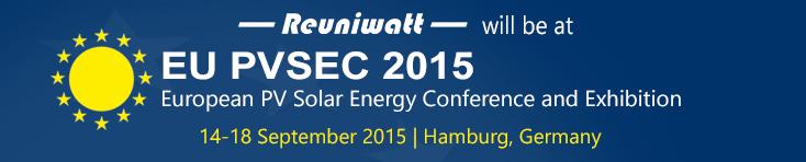 EU PVSEC 2015: International Conference for Photovoltaics