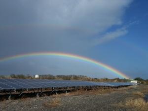 Massive development of solar energy