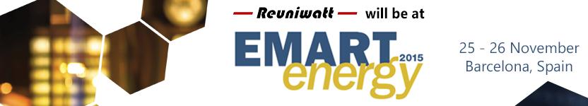 Reuniwatt will exhibit at EMART Energy 2015