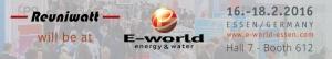 E-World Energy & Water 2016 - Reuniwatt
