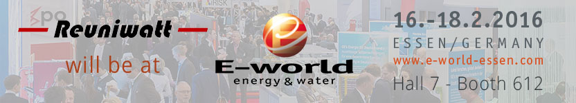 E-World Energy & Water 2016 - Reuniwatt