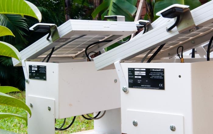 solar irradiance sensors