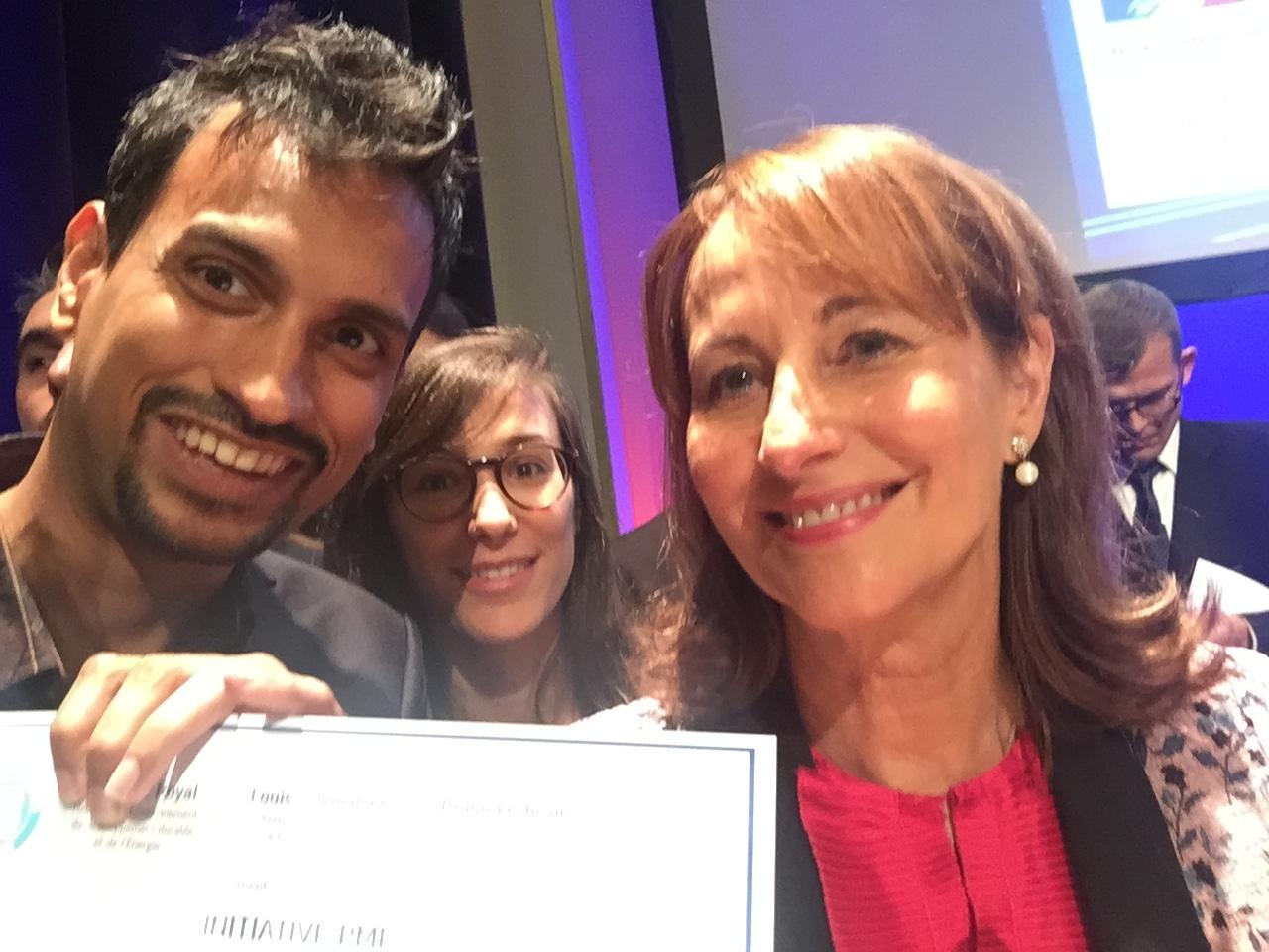 Reuniwatt, winner of the SME Initiatives