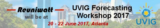 Reuniwatt at UVIG's 2017 Forecasting Workshop