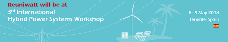 Reuniwatt will be at the 3rd International Hybrid Power Systems Workshop