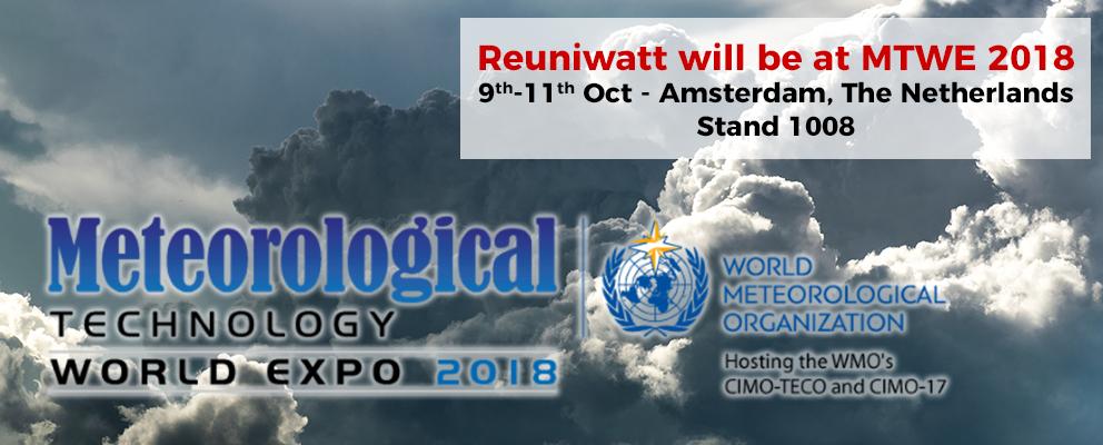 Meteorological Technology World Expo 2018