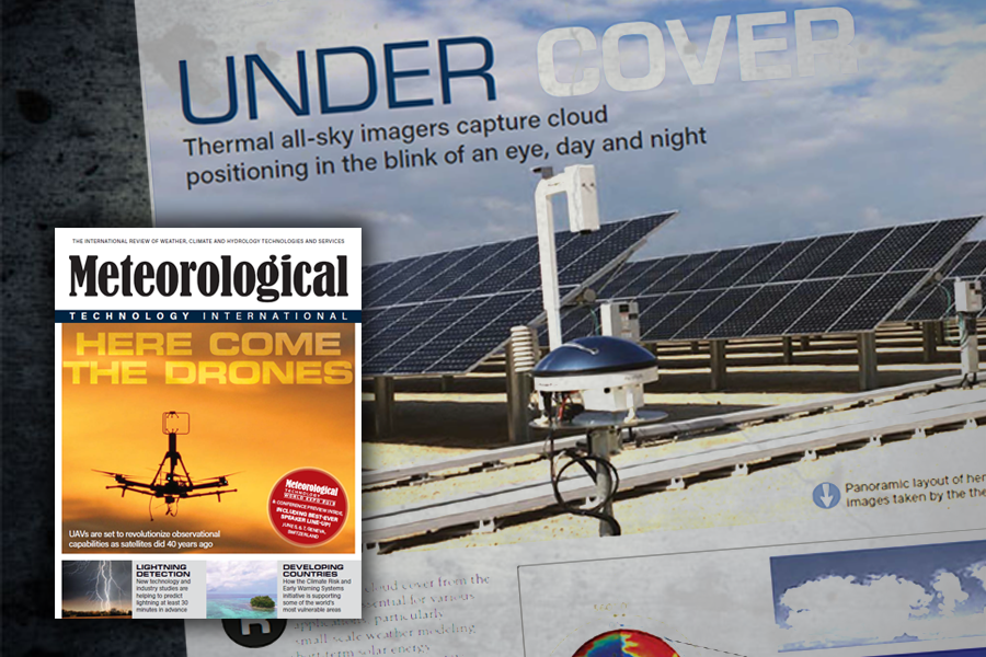 Cloud-reporting with Sky InSight™ featured in Meteo Tech Intl.