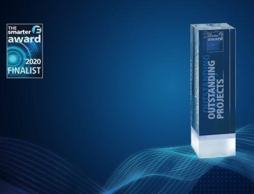 Reuniwatt named a finalist for The Smarter E Award 2020!