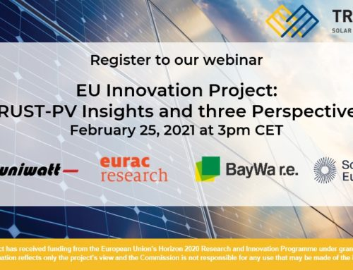[Webinar Series] Introduction to TRUST-PV
