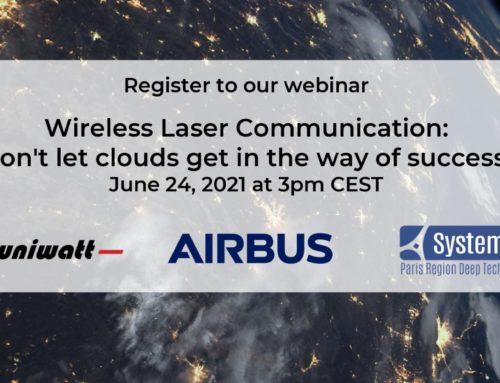 [Webinar] Wireless Laser Communications