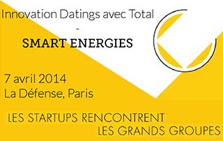 Reuniwatt sélectionnée pour participer aux Innovation Datings sur les « Smart Energies »