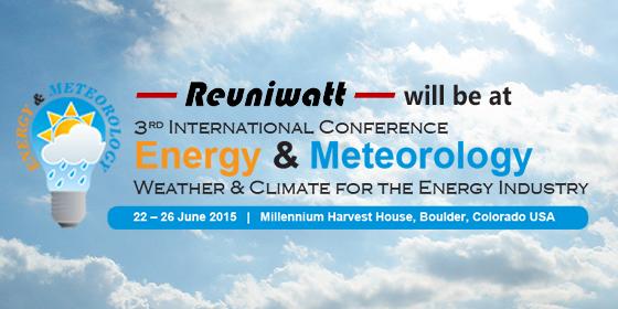 ICEM 2015 : la météo et le climat au service de l'énergie