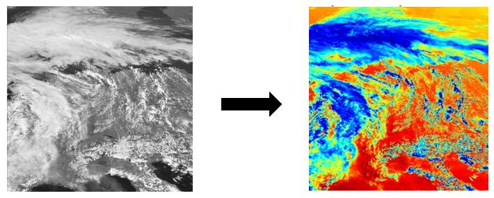 Cartographie de l'irradiance solaire