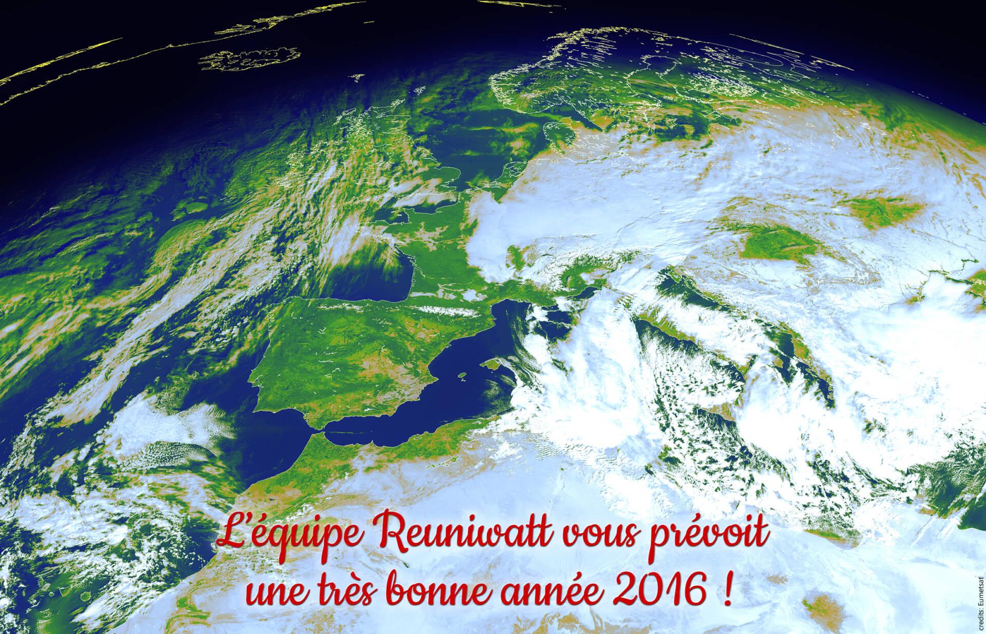 Meilleurs vœux pour 2016 !