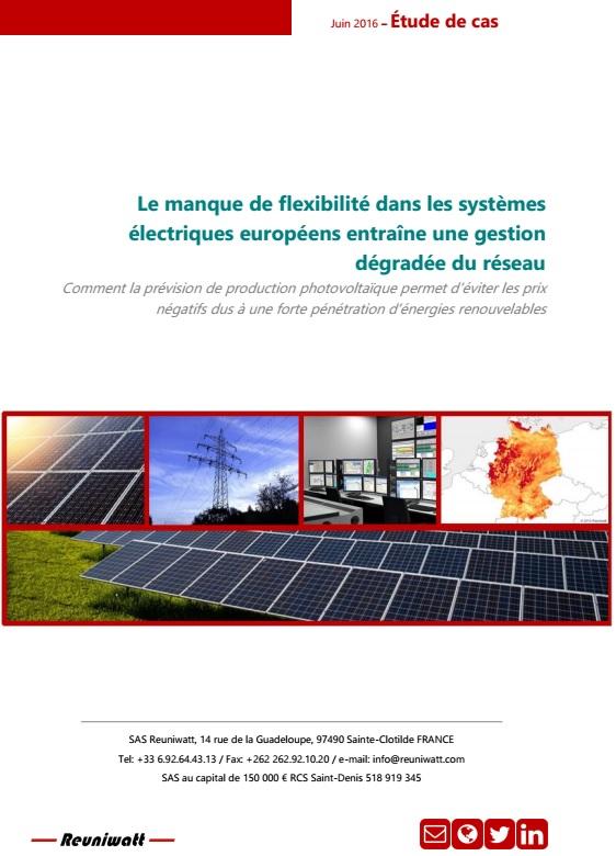 Etude de cas : Le manque de flexibilité dans les systèmes électriques européens entraîne une gestion dégradée du réseau