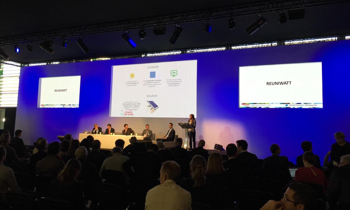 Vitrine de l'Innovation de Pollutec 2016 : Reuniwatt finaliste