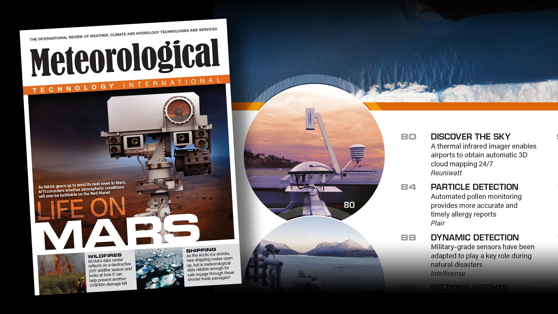 La caméra au sol de Reuniwatt mise en avant dans Meteorological Technology International Magazine